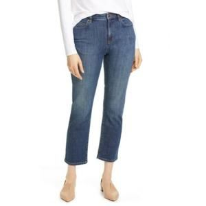Eileen Fisher Ankle Organic Cotton Jeans  12